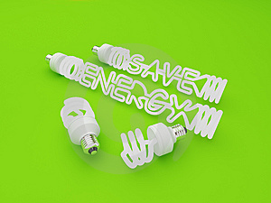 Energy Saving Light Royalty Free Stock Images - Image: 7769639