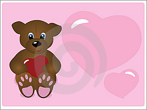 Valentine's Day Greeting Card Royalty Free Stock Photos - Image: 7771698