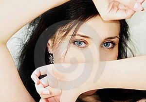 Blue Eyes Royalty Free Stock Photo - Image: 7771815