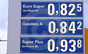Low Petrol Prices Stock Photos - Image: 7772033