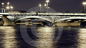 Bridge In St. Petersburg Royalty Free Stock Photography - Image: 7772337