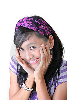 Surprise Happy Girl Royalty Free Stock Photos - Image: 7773808