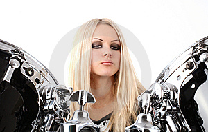 Rock-n-roll And Anna Stock Image - Image: 7775701