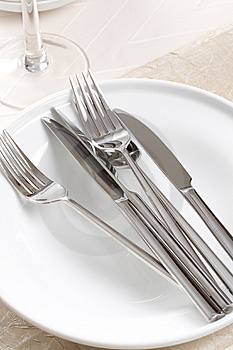 Silverware Stock Photo - Image: 7777360