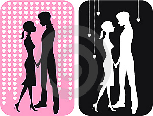Pair Of Falling In Love Royalty Free Stock Image - Image: 7778976