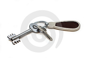 Two Keys And Charm Stock Images - Image: 7779594
