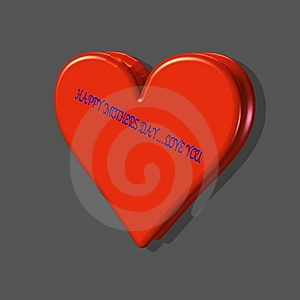 2 Hearts Joined As 1 Stock Photography - Image: 7781132