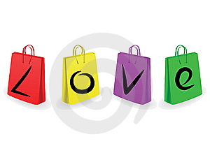 Collection Of Shopping Bags Royalty Free Stock Photos - Image: 7781788