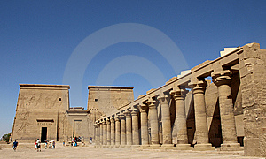 Philae Temple Stock Photography - Image: 7782672