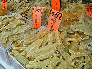 Chinatown Fish Bladders Stock Photo - Image: 7782970
