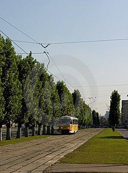 Tram Way 1 Stock Photos - Image: 7783683