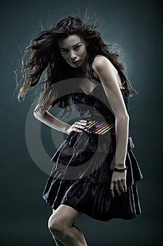 Fashion Woman Royalty Free Stock Photo - Image: 7784545