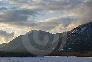 Dusk In Fraser Valley Royalty Free Stock Photos - Image: 7786068