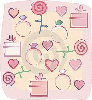 Valentines Background Stock Image - Image: 7788501