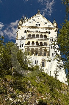 Castle Near Munich Stock Image - Image: 7789401