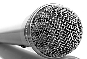 Close-up Microphone Royalty Free Stock Photos - Image: 7791738