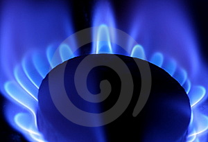 Blue Flame Of Gas Stock Photos - Image: 7792543