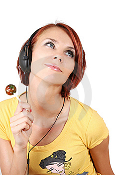 Candy And Music Stock Image - Image: 7792701