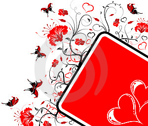 Valentines Day Frame Stock Photography - Image: 7793072