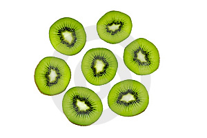 Kiwi Fruit Slices Royalty Free Stock Photos - Image: 7793968
