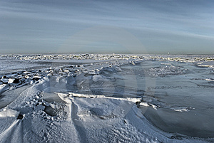 The Ice Sea Stock Image - Image: 7794261