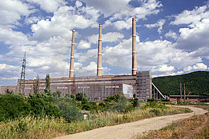 Thermo Power Plant Royalty Free Stock Photos - Image: 7796218