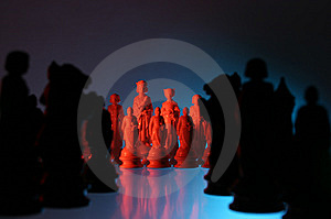 Close-up View Of Chess. Royalty Free Stock Photography - Image: 7797557