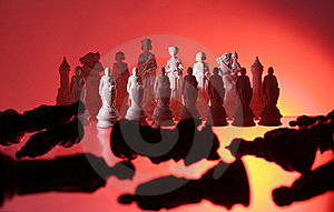 Close-up View Of Chess. Stock Photography - Image: 7797562