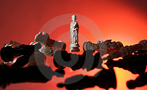 Close-up View Of Chess. Stock Photos - Image: 7797563