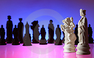 Close-up View Of Chess. Stock Photo - Image: 7797570