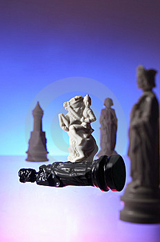 Close-up View Of Chess. Royalty Free Stock Images - Image: 7797599