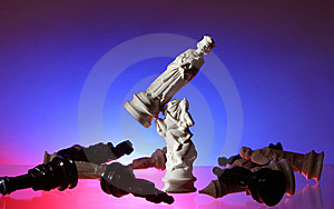 Close-up View Of Chess. Royalty Free Stock Photography - Image: 7797687