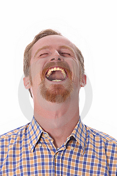 Portrait of smiling man Royalty Free Stock Photo