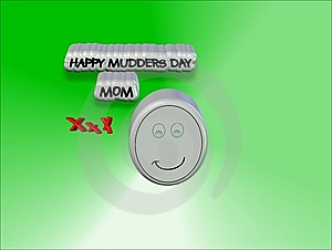 Kids Card For Mothers Day Stock Photo - Image: 7798910