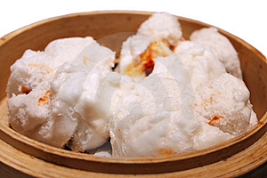 Chinese Barbecued Pork Bun (Cha Siu Baau) Royalty Free Stock Images - Image: 7799349