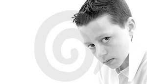 Male With White Space Royalty Free Stock Photo - Image: 781465