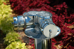Chrome Standpipe 1 Stock Photography - Image: 786352