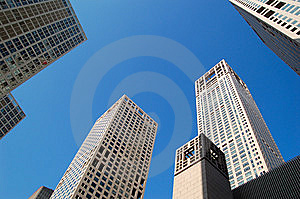 Business buildings Stock Photo