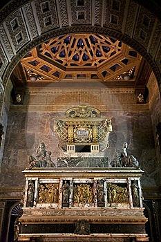 Saint John Tomb Coffin Royalty Free Stock Images - Image: 7801129
