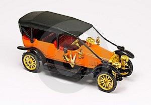 Retro Car Model Stock Photo - Image: 7801340