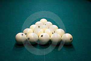 Pool Balls Royalty Free Stock Photography - Image: 7802547