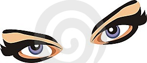 Eyes. Fragment Of Face Royalty Free Stock Photos - Image: 7803698