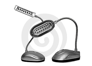 Desk Lamps Royalty Free Stock Photography - Image: 7803717