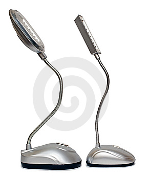 Desk Lamps Royalty Free Stock Photo - Image: 7803905