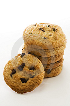 Biscuits Tower Royalty Free Stock Images - Image: 7805679