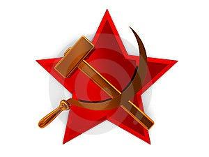 Soviet Symbol Royalty Free Stock Image - Image: 7808346