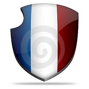 France Shield Stock Photo - Image: 7808510