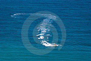 Jetski Royalty Free Stock Photography - Image: 7810387