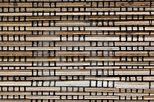 Abstract Background Image Of Bamboo Slats Stock Image - Image: 7810611