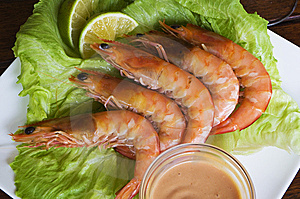 King Prawns Stock Images - Image: 7811054